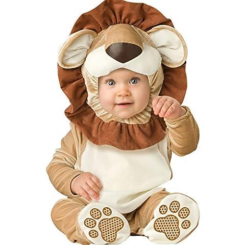 O&N Baby Jungen Mädchen Kleinkinder Animal Kostüm Halloween Party Jumpsuit Winter Strampler Löwen 80cm