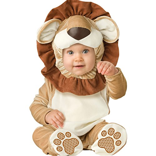 chen Kleinkinder Animal Kostüm Halloween Party Jumpsuit Winter Strampler Löwen 80cm ()