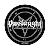 ONSLAUGHT       PENTAGRAM       Patch/ Aufnäher