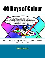 40 Days of Colour: Adult Colouring-In Devotional studies