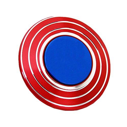 Preisvergleich Produktbild HTKJ Hand Spinner Tri-Spinner Fidget Spielzeug EDC Focus Toy Stress Reducer Geschenke für Erwachsene Kinder (black)