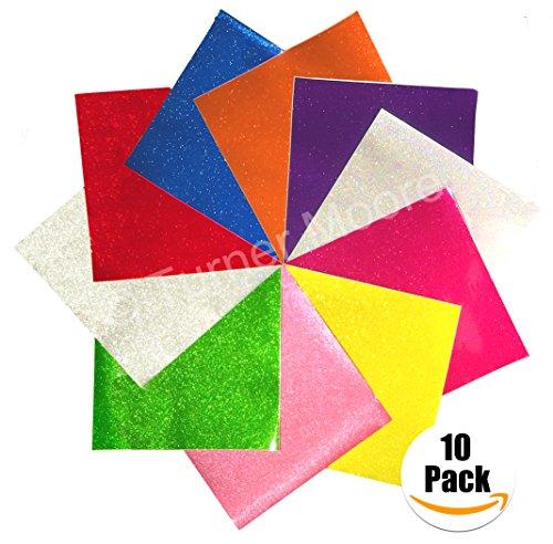 StyleTech - Turner Moore Edition Adhesive Vinyl-Kunstdrucke für Silhouette Cameo, Schilder, Aufkleber Aufkleber (10er Pack) 12