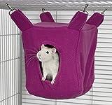 Rodents Residence Würfel Kuschelhängematte (Pink)