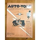 AUTO VOLT [No 139] du 01/02/1943 - UN NOUVEAU MATERIAU POUR LES ELECTRICIENS - LES BOIS RESINIFIES - LE...