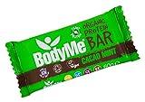 BodyMe Barrette Proteiche Vegane Biologiche | Crudo Cacao Menta | 60g | Con 3 Proteines Vegetali