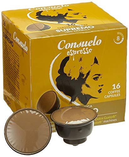 Consuelo Dolce Gusto* kompatible Kapseln   - Supremo, 96 Kapseln (16x6)
