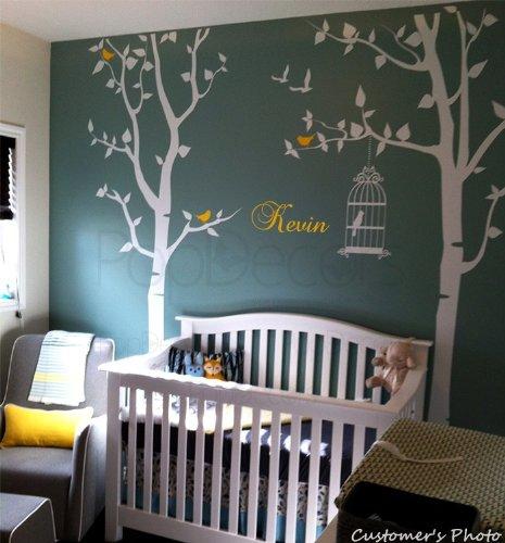 Pop Decors Wandsticker Baum-Design, ideal für Kinderzimmer