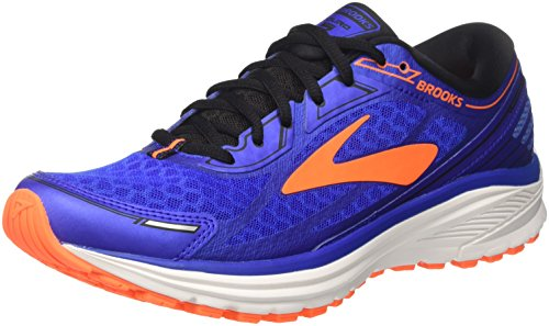 Brooks Aduro 5, Scarpe da Running Uomo, Blu (Blue/Orange/Black 1D494), 43 EU