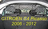 Divisorio Griglia Rete Divisoria Ergotech RDA100-M, per trasporto cani e bagagli.