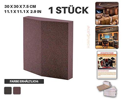 ace-punch-1-stuck-burgund-isolierschiene-wand-set-akustikschaumstoff-dammung-mit-freien-befestigungs
