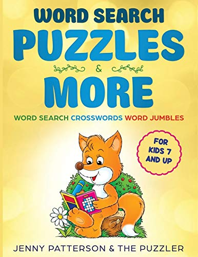Word Search Puzzles & More: Word Puzzles for Ages 7 and Up - Crosswords, Word Search and Jumbles