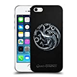Officiel HBO Game Of Thrones Silver Targaryen Symboles Étui Coque en Gel molle pour Apple iPhone 5 / 5s / SE