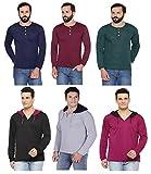 #3: Rico Sordi men's set of 6 full sleeve hanley & hoodie combo