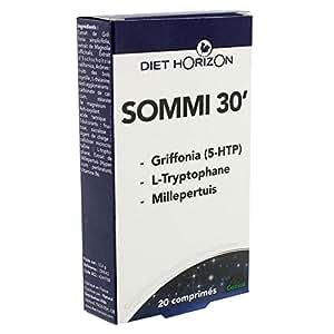 Diet horizon - Sommi 30' (ex sommeil 30') - 20 comprimés - L'alternative naturelle aux somnifères