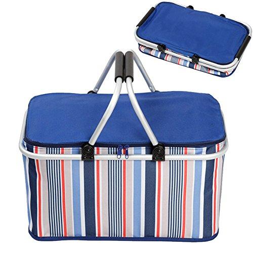Faltbarer Picknick-Korb, wärmeisoliert, 32 Liter Rolling Soft Cooler