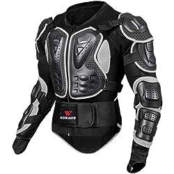 Veste Armure Moto Blouson Motard Gilet Protection Équipement de Moto Cross Scooter VTT Enduro Homme ou Femme