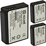 ( 3 Pack ) Ultra High Capacity Original Nixxell Battery For Canon LP-E10 LC-E10 For Canon EOS 1100D, EOS 1200D, EOS 1300D, EOS Rebel T3, Rebel T5, EOS Rebel T6, EOS Kiss X50, EOS Kiss X70, Many More!