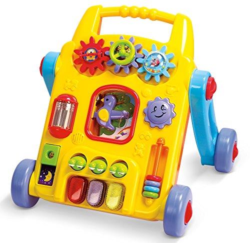 Playgo 2240 - de 2 en 1 andador con la actividad del bebé, con alimentación de batería