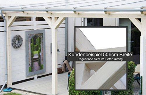 solidbasic mit vsg glas 400 x 250 cm terrassen berdachung leimholz glasdach. Black Bedroom Furniture Sets. Home Design Ideas