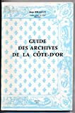 Guide des Archives de la Côte-d'Or