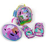 Peppa Pig - Set de casco + protecciones (Saica 9126)
