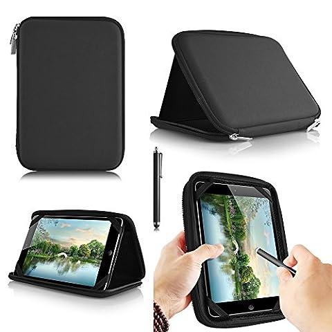 casezilla A2017,8cm Mid Apad ePad Netbook Tablet Universal EVA Hartschale Folio Tablet Fall schwarz Monster High 7 Inch Android Tablet