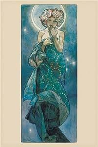 Mucha - Moon - Maxi Poster - 61 cm x 91.5 cm