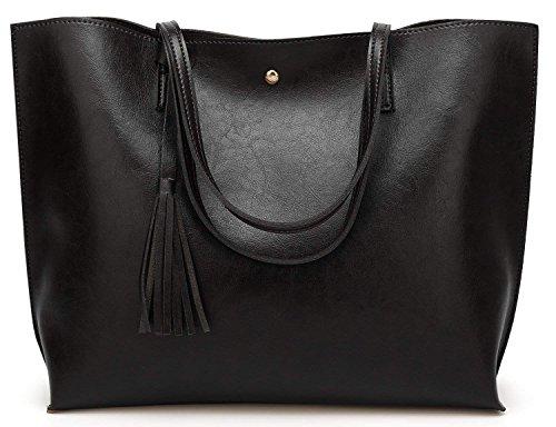 DCCN Ladies Bags Shopper PU Leather Messenger Bags Shopping Bag