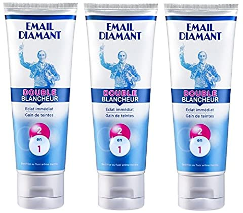 Email Diamant - Email Diamant - Dentifrice Double Blancheur -