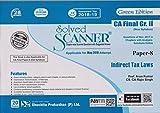 Shuchita Prakashan's Solved Scanner Indirect Tax Laws CA Final Gr. II (New Syllabus) Paper-8 18ED