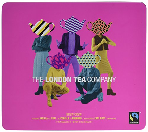 The London Tea Company Brew Crew Gift Tin 172 g