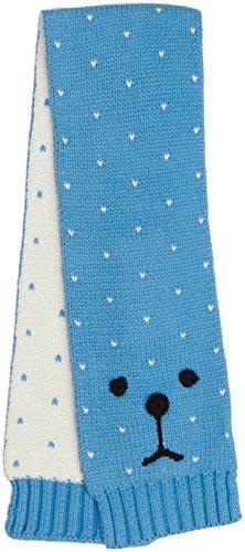 Esprit Kids Baby-Jungen Schal Tuch, Blau (Hellblau 440), One size