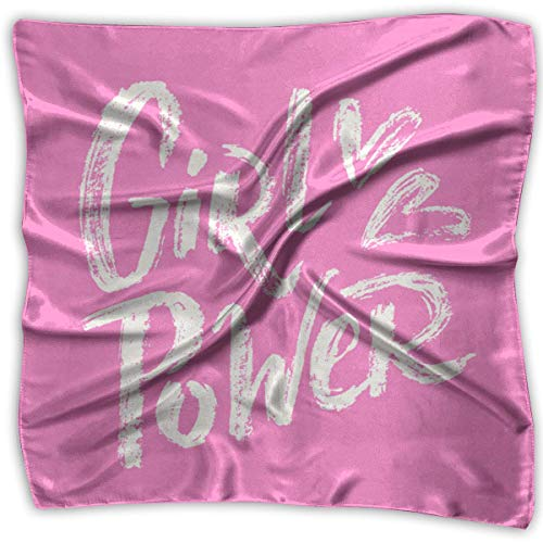 Girl Power Women's Elegant Square Handkerchief Polyester Neck Head Scarf