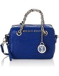 Versace - Ee1Vnbbc2_20 Cm_Blu, Bolso De Mano da mujer, azul (prussian blue), Taglia unica