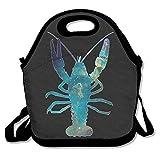 Dozili Galaxy Lobster Handliche große und dicke Neopren-Lunch-Taschen, isolierte Lunch-Tasche,...