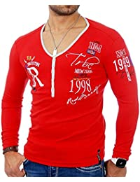 Redbridge - Tee shirt fashion homme T-shirt 1643 rouge - Rouge