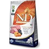 Farmina N&D Grain Free Pumpkin Lamb And Blueberry Puppy Food, 12 Kg (Medium And Maxi)