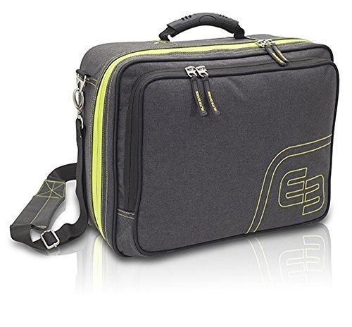 ELITE BAGS URB&GO Sac de médecin de grande capacité pour les visites à domicile (gris)