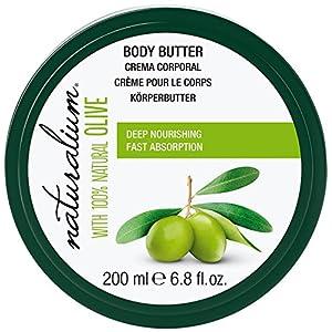 Naturalium Oliva – Crema Corporal de Olivas 100% Naturales, Hidratación Profunda y Rápida Absorción, formato 200 ml