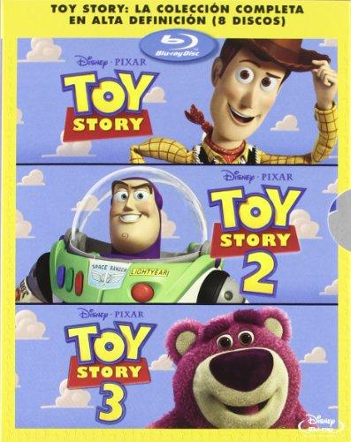 Pack: Toy Story 1, 2 Y 3 [Blu-ray 3D] [Import espagnol]