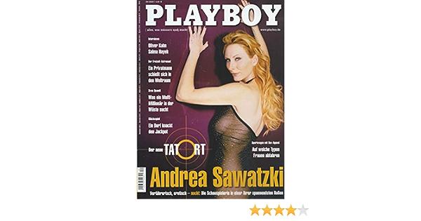 Andrea sawatzki nackt playboy