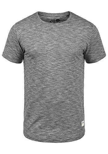 !Solid Figos Herren T-Shirt Kurzarm Shirt mit Rundhalsausschnitt aus 100% Baumwolle, Größe:L, Farbe:Black (9000)