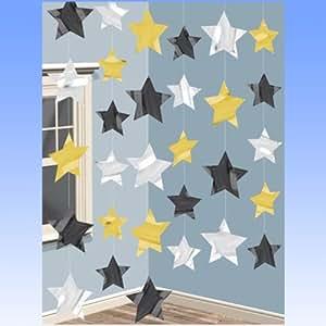 Décoration à suspendre étoiles