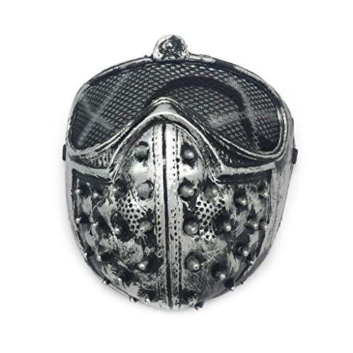 Maske Niet Maske Half Face PVC Kunststoff Maske Party Cosplay Requisiten Niet Realistisch-Masken Motorrad Gesichtsmaske ()