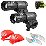 HeroBeam® Double Bike Lights Set - The Ultimate Lighting and Safety Pack of