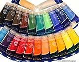 Magi 24 KÜNSTLERFARBEN Acrylfarben je 250 ml, komplettes MEGA-SPARSET, original Farben