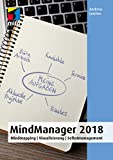 MindMapping mit MindManager 2018: Mindmapping | Visualisierung | Selbstmanagement (mitp Anwendungen)