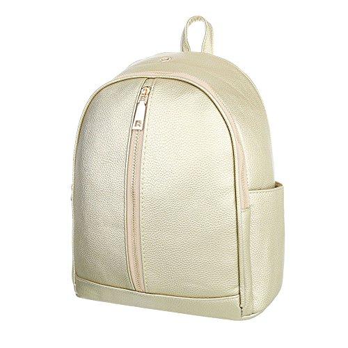 Taschen Freizeittasche Gold