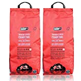 2x Weber 17515 Premium Express Grill-Holzkohle 3 kg
