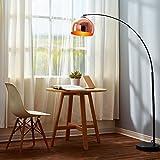 Versanora Curved Arquer LED Standard Stehlampe Kupfer Modern Lighting VN-L00011
